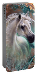 Copper Grace - Horse Portable Battery Charger by Sandi Baker