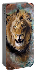 Copper Majesty - Lion Portable Battery Charger