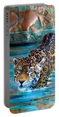 Copper - Temple Of The Jaguar Portable Battery Charger