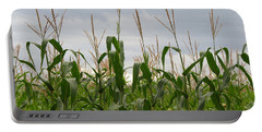 Portable Battery Charger featuring the photograph Corn Field by Laurel Powell