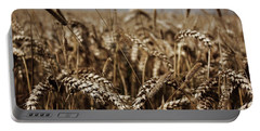 Corn Field Portable Battery Charger by Vicki Spindler