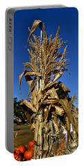 Portable Battery Charger featuring the photograph Corn Stalk by Michael Gordon