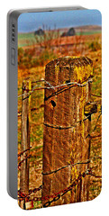 Corner Post At Gate Portable Battery Charger