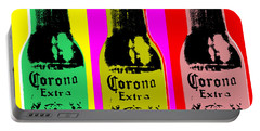 Corona Beer Portable Battery Charger by Jean luc Comperat