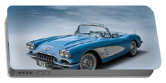 Corvette Blues Portable Battery Charger