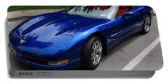 Corvette By Chevrolet At Fifty Portable Battery Charger