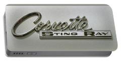 Corvette Stingray Emblem Portable Battery Charger