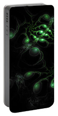 Cosmic Alien Eyes Original Portable Battery Charger by Shawn Dall