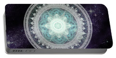 Cosmic Medallions Water Portable Battery Charger by Shawn Dall
