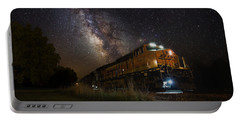 Cosmic Railroad Portable Battery Charger