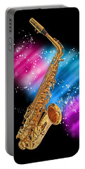 Cosmic Sax Portable Battery Charger