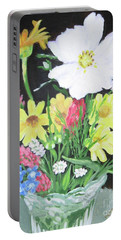 Cosmos And Her Wild Friends Portable Battery Charger