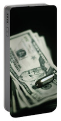 Cost Of One Bullet Portable Battery Charger by Trish Mistric
