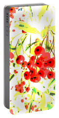 Portable Battery Charger featuring the photograph Cotoneaster by Barbara Moignard