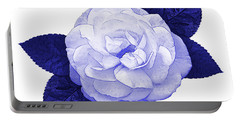 Portable Battery Charger featuring the photograph Cottage Rose by Jane McIlroy
