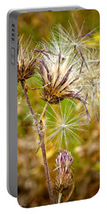 Portable Battery Charger featuring the photograph Cotten Grass by Jim Thompson