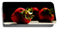 Countertop Strawberries Portable Battery Charger