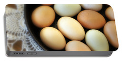Country Egg Skillet Portable Battery Charger