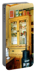 Portable Battery Charger featuring the painting Country Kitchen Sunshine IIi by RC deWinter