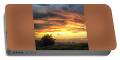 Country Scene From Hilltop To Hilltop Portable Battery Charger