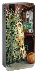 Country Store Portable Battery Charger by Barbara Jewell