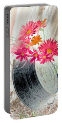 Country Summer - Photopower 1499 Portable Battery Charger by Pamela Critchlow