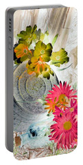 Country Summer - Photopower 1509 Portable Battery Charger by Pamela Critchlow
