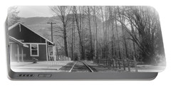 Portable Battery Charger featuring the photograph Country Train Depot by Tikvah's Hope