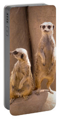 Couple Of Meerkats Portable Battery Charger