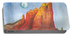 Court House Butte  Portable Battery Charger