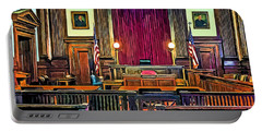 Courtroom Portable Battery Charger