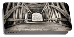 Covered Bridge B N W Portable Battery Charger