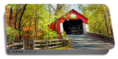 Covered Bridge In Bucks County Portable Battery Charger
