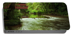 Covered Bridge Over French Creek Portable Battery Charger