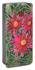 Coville Barrel Blossoms Portable Battery Charger