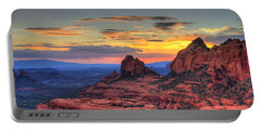 Cow Pies Sunset Portable Battery Charger