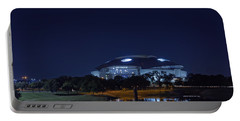 Cowboys Stadium Game Night 1 Portable Battery Charger