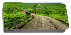 Cows On The Road Portable Battery Charger