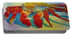 Colorful Crab  Portable Battery Charger