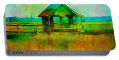 Crab Shack Pawleys Island Portable Battery Charger by Frank Bright