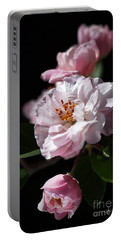 Crabapple Flowers Portable Battery Charger