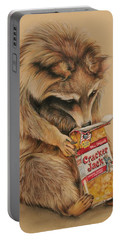 Cracker Jack Bandit Portable Battery Charger by Jean Cormier