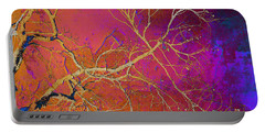 Crackling Branches Portable Battery Charger by Meghan at FireBonnet Art