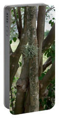 Portable Battery Charger featuring the photograph Crape Myrtle Growth Ball by Peter Piatt