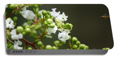 Crape Myrtle Portable Battery Charger