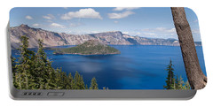 Crater Lake National Park Portable Battery Charger by Diane Schuster