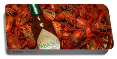 Crawfish And Tabasco Portable Battery Charger