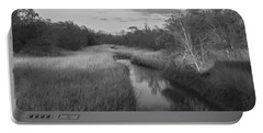 Portable Battery Charger featuring the photograph Creek At Wilmington Island by Frank Bright