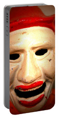 Creepy Clown Portable Battery Charger by Lynn Sprowl