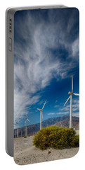 Creosote And Wind Turbines Portable Battery Charger